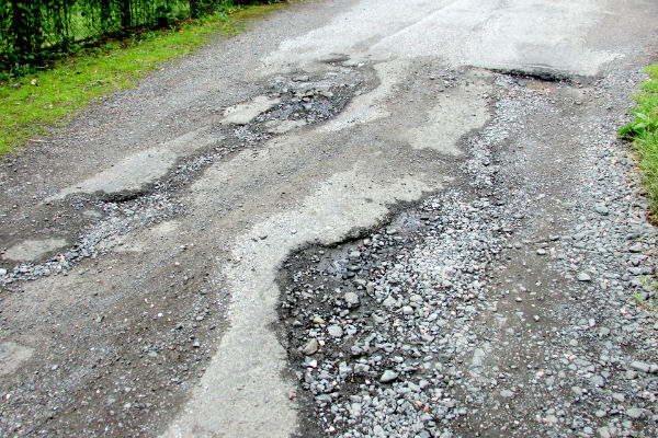 Pothole repair Melton Mowbray